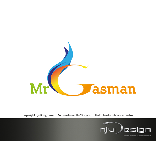 Logotipo Mr. Gasman